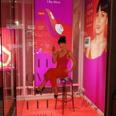 Harmony Store Lily Allen visual merchandising