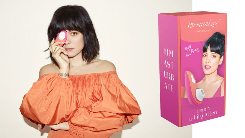 Design productverpakking & sleeve Womanizer Liberty by Lily Allen